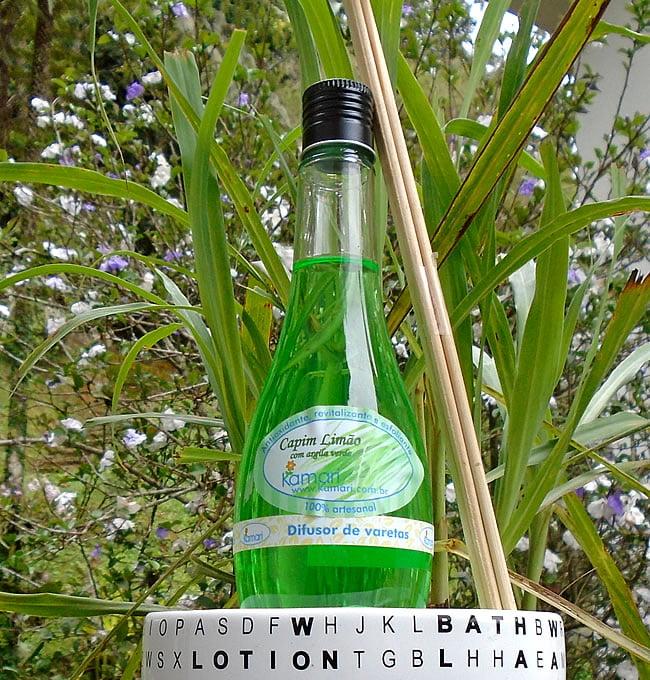 CAPIM LIMÃO - Difusor de Aromas - Garrafinha 240 ml