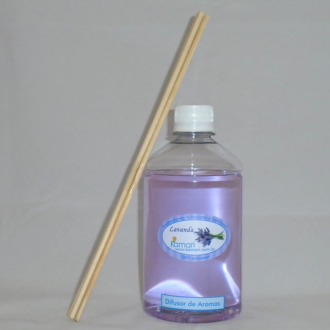 LAVANDA - Refil de Difusor de Aromas - 500 ml