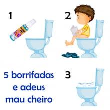 PooFresh - Nº 3 - Óleo Bloqueador de Odores Sanitários - 70 ml