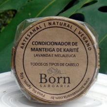 Condicionador em barra Natural e Vegano - Manteiga de Karité - Born Saboaria