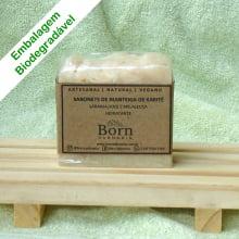 Sabonete Natural e Vegano - Manteiga de Karité - Hidratante - Born Saboaria