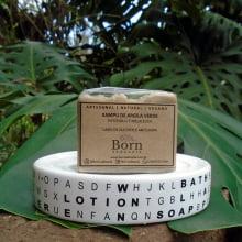 Xampu em Barra Natural e Vegano - Argila Verde - Cabelos Oleosos - Born Saboaria