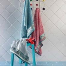 Jogo de Toalhas de Banho Juvenil - 450g/m² - 2 Peças - Artex - Tom