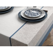 Toalha de Mesa - Retangular 8 Lugares - 140X250 - Limpa Fácil - Karsten - Ariana