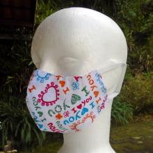 Máscara Protetora de Tecido Lavável - Estampadas - 4 Unidades